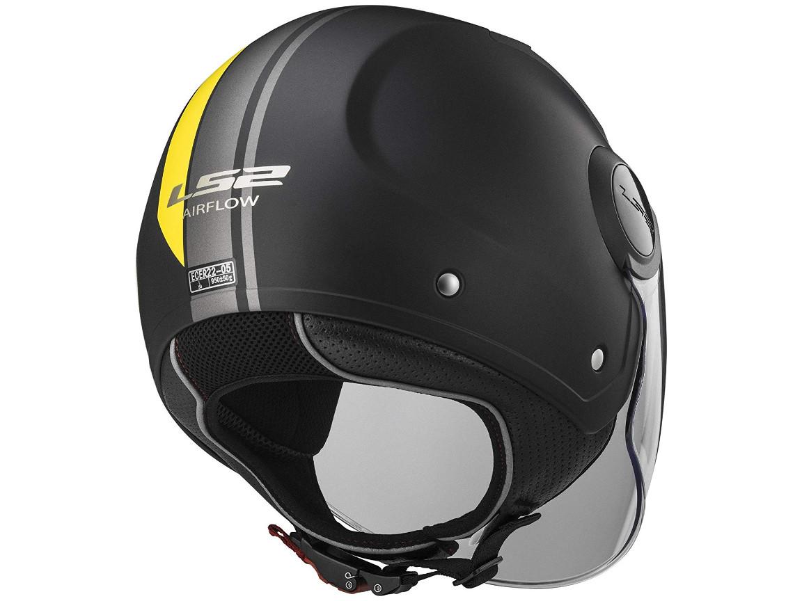 LS2 Jet Helmet OF562 Airflow Metropolis